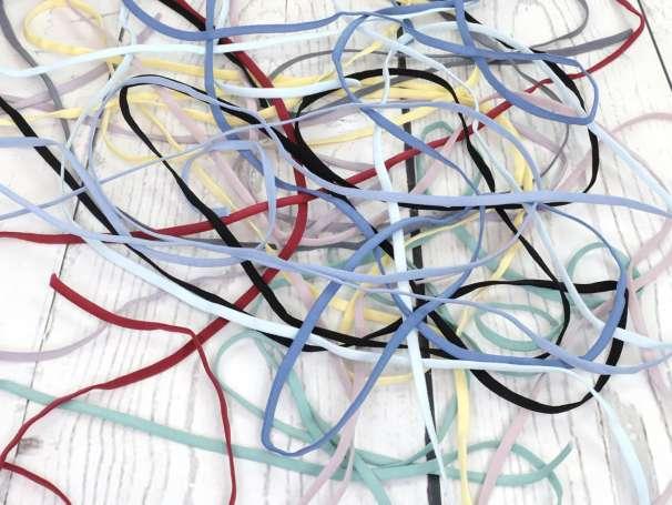 Gummi Band - Rundelastik 5mm - verschiedene Farben