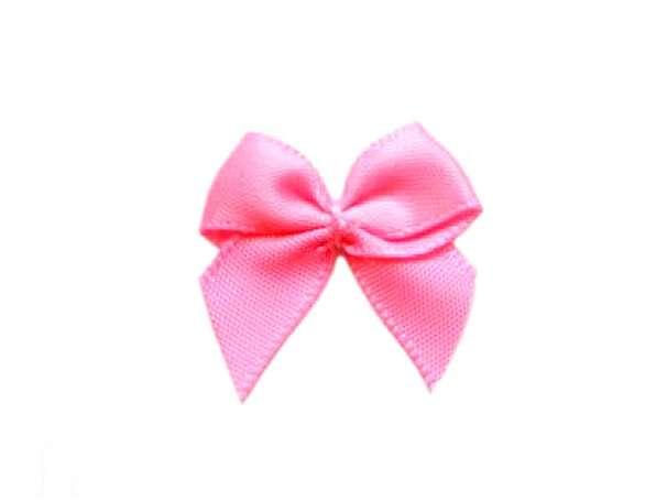 Satin Schleife - 24 mm - pink