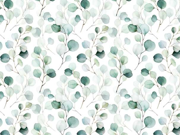 Jersey Stoff - Eukalyptus