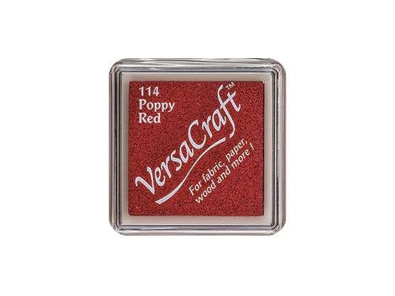Stempelkissen für Stoff - Versa Craft - 114 Poppy Red
