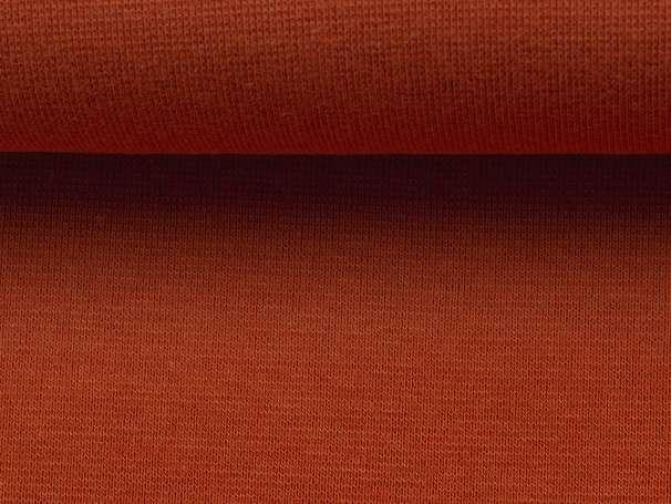 Bündchenstoff - terracotta