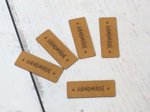 SnaPpap Label - Sternchen, Handmade