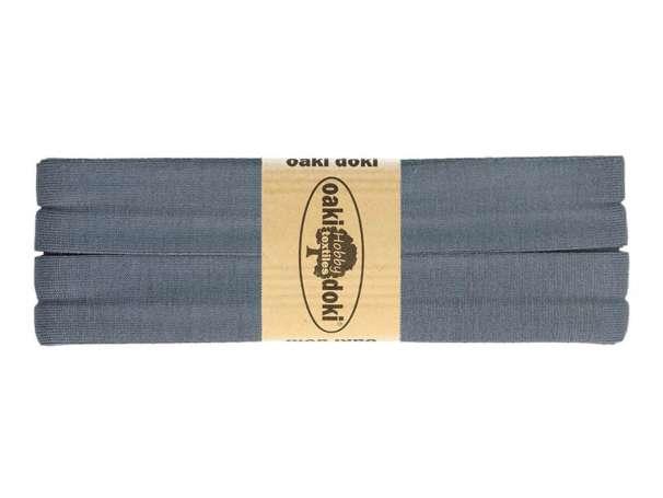 3m Jersey Schrägband - Viskose - 106 rauchblau