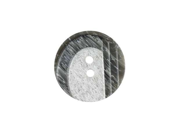 Modeknopf - 23 mm - grau