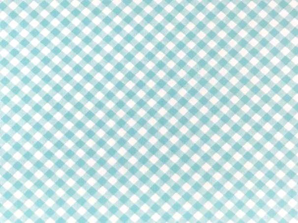 Baumwolle Stoff - Diagonal Gingham