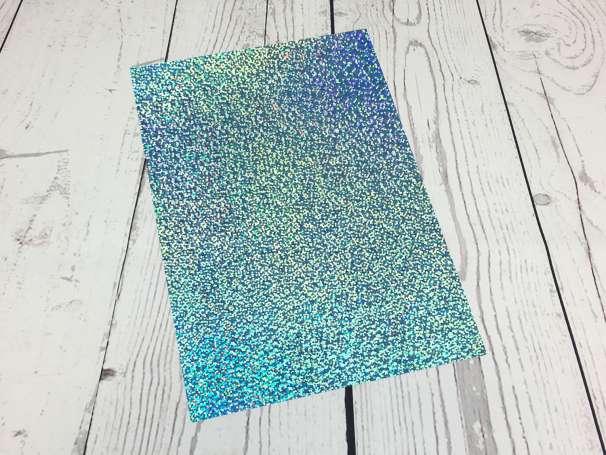 Fashion Plotterfolie - DIN A4 - hellblau sparkle