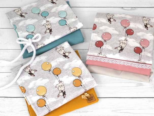 Jersey Stoff - Cute Little Bulldog - verschiedene Farben