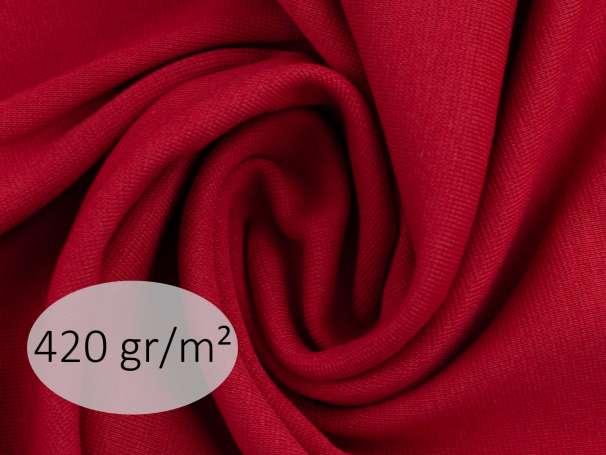 Bündchenstoff - ANTJE 420 gr. - burgundy