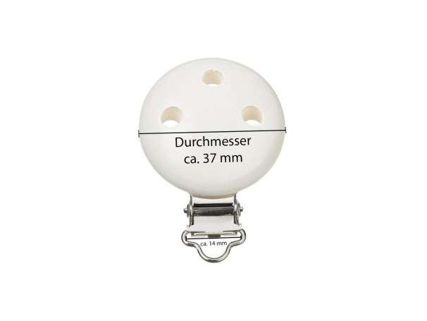 Schnulli-Ketten Clip - Maße