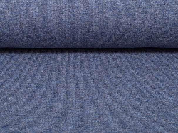 Uni Jersey - Vanessa - dunkelblau meliert