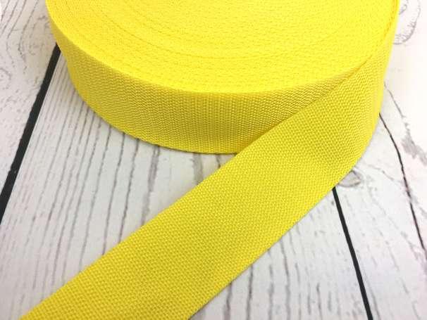 Gurtband - 40mm - gelb