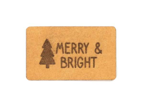 SnaPpap Label - Tannenbaum, Merry & Bright