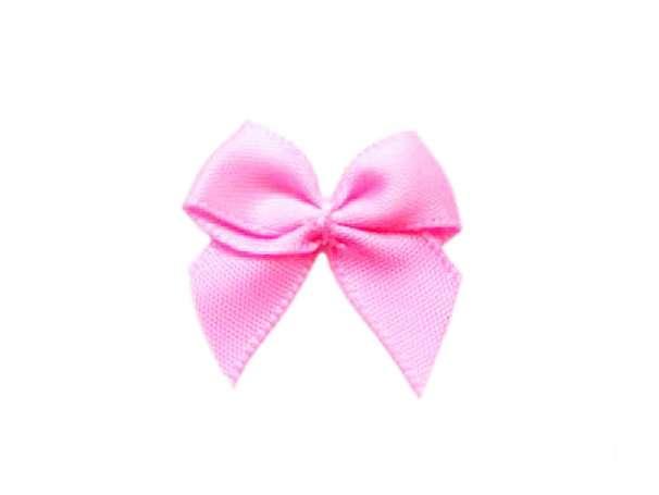 Satin Schleife - 24 mm - helles pink