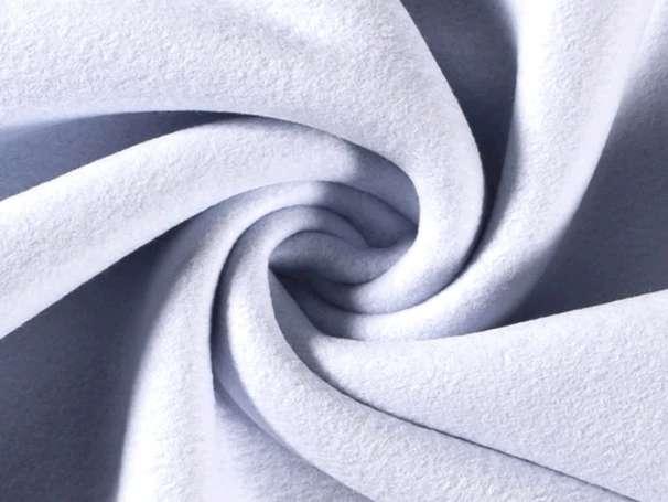 Baumwollfleece - Bene - blassblau
