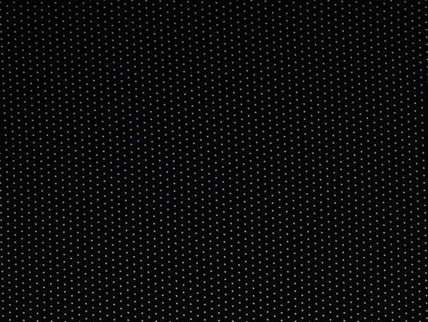 Viskose Jersey - Pünktchen - schwarz/weiß