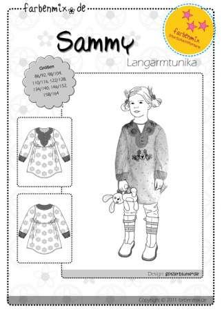Farbenmix Schnittmuster - Sammy