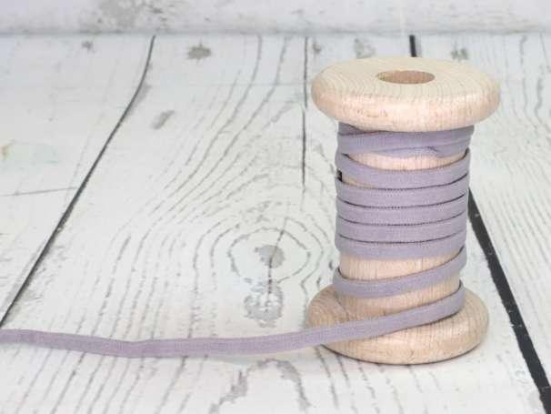 Gummi Band - Rundelastik 5mm - grau