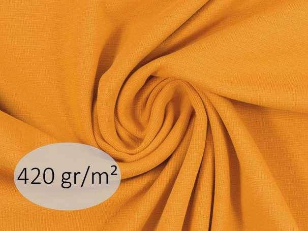 Bündchenstoff - ANTJE 420 gr. - senf