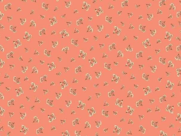 Baumwolle Stoff - Fabulous Breath Coral