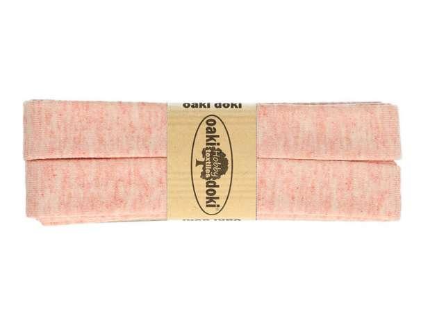 3m Jersey Schrägband - Viskose - 061 rosa meliert
