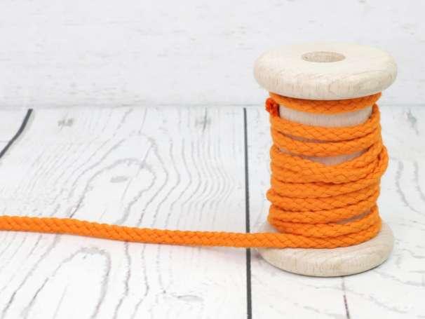Kordel Baumwolle - 5 mm - orange