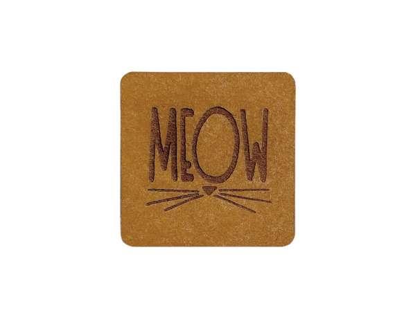 SnaPpap Label - Quadrat - MEOW