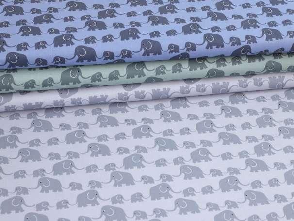 Westfalenstoffe - JUNGE LINIE - Elefanten, verschiedene Farben
