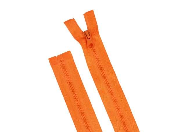 Teilbarer Reißverschluss - 80 cm - orange