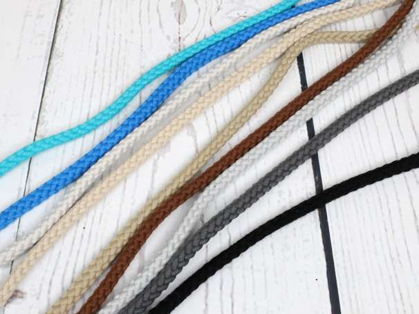 Kordel Baumwolle - 8 mm - verschiedene Farben