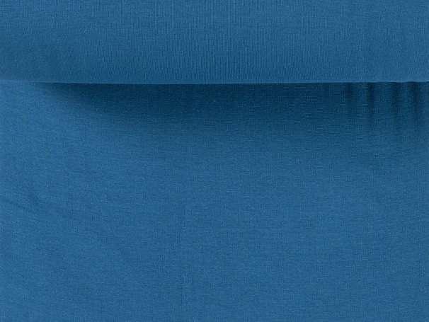 Bündchenstoff - Billy - polarblau