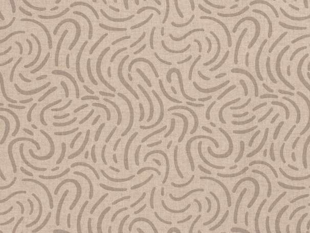 Canvas - Linien - beige