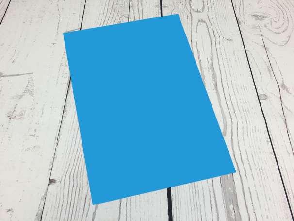 Powerflex Plotterfolie - DIN A4 - neonblau