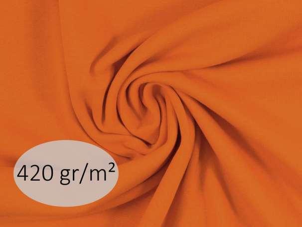 Bündchenstoff - ANTJE 420 gr. - orange