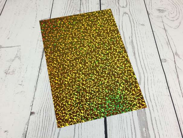 Fashion Plotterfolie - DIN A4 - gold sparkle