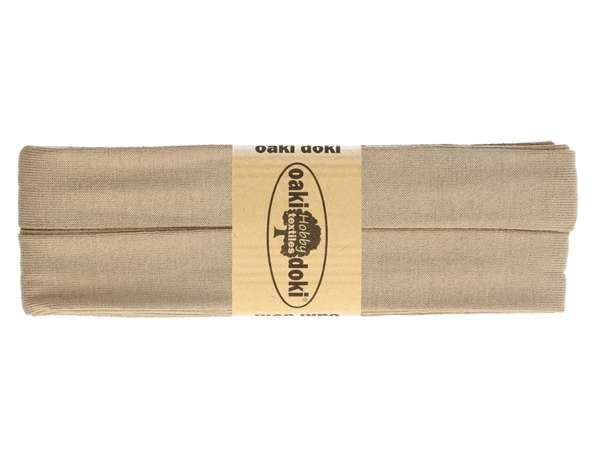 3m Jersey Schrägband - Viskose - 548 taupe