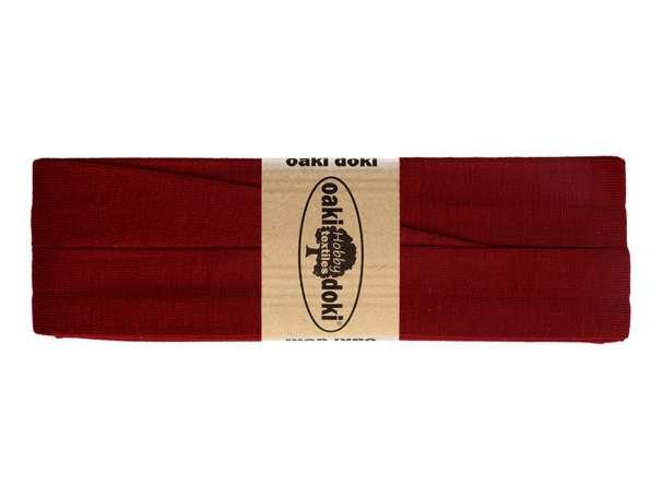 3m Jersey Schrägband - Viskose - 600 dunkles burgundy
