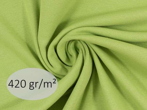 Bündchenstoff - ANTJE 420 gr. - kiwi