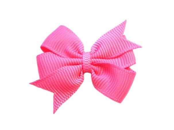 Doppelschleife Ripsband - 40 mm - pink