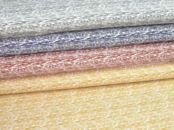 Jersey Stoff - Scribble Stripes - verschiedene Farben