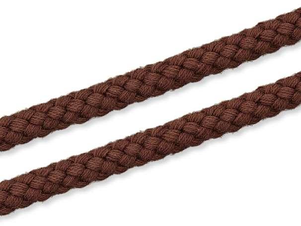 Kordel Baumwolle - 8 mm - braun
