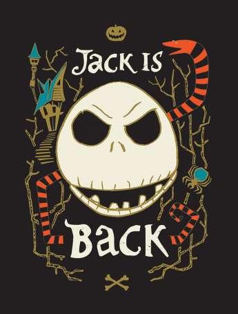 Baumwolle Stoff - PANEL - Jack is Back