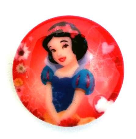 Knopf Disney - 19mm - Schneewittchen