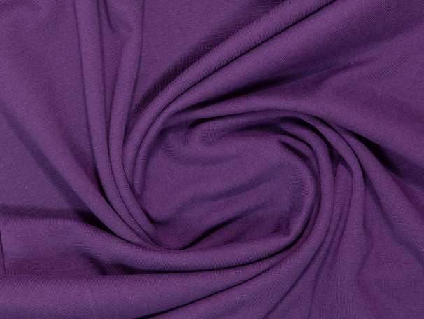 Bündchenstoff - violett