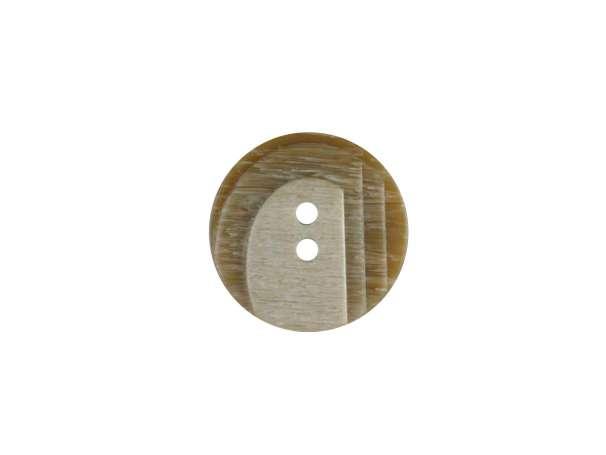 Modeknopf - 18 mm - beige