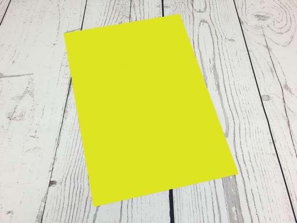 Powerflex Plotterfolie - DIN A4 - limonengelb