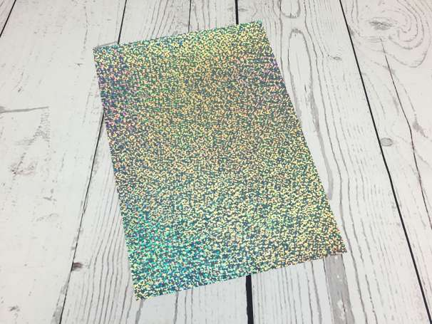 Fashion Plotterfolie - DIN A4 - silber sparkle