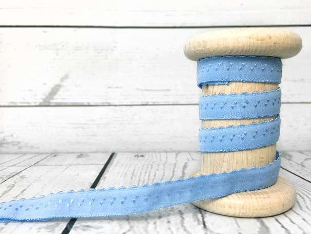Elastisches Einfassband - himmelblau