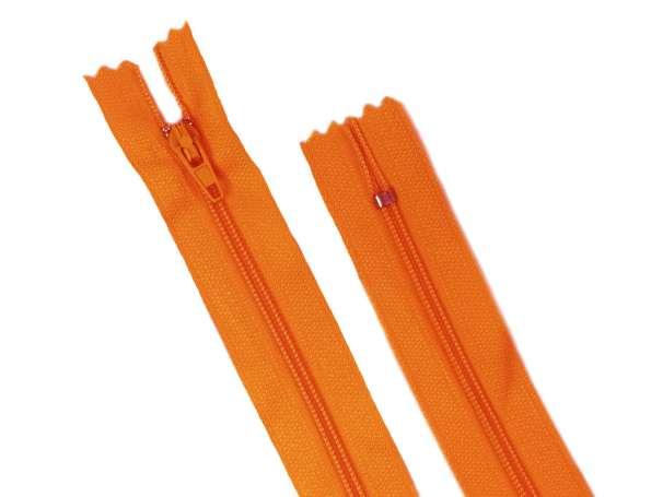 Reißverschluss - 45 cm - orange