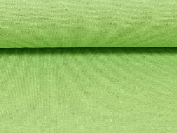 Bündchenstoff - hellgrün