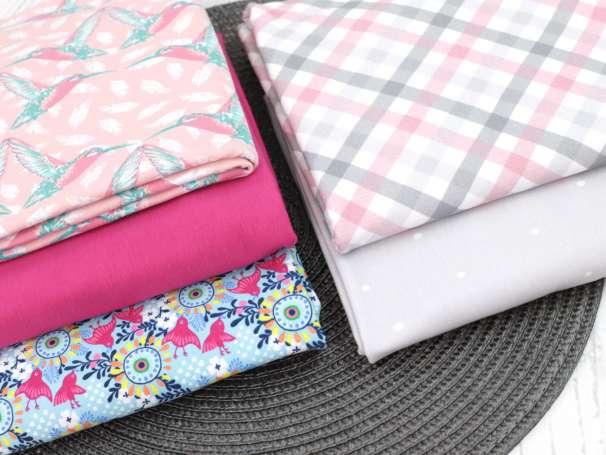Stoff Paket - Pink/Rosa Töne